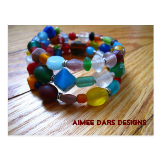 Fun and Funky Bracelet Post Card