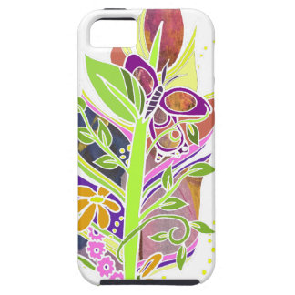 Fun and Funky Pollinator Inspired Nature Feather iPhone SE/5/5s Case