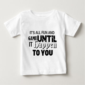 fun and game design baby T-Shirt
