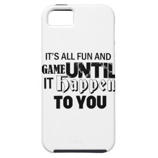 fun and game design iPhone SE/5/5s case