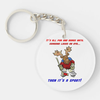 Fun and Games Keychain