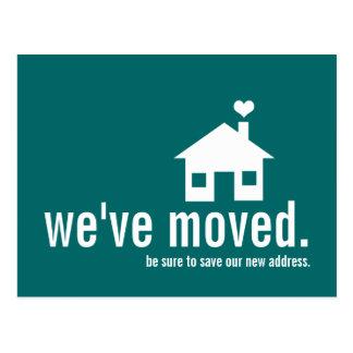 Fun and Modern New Address Postcard