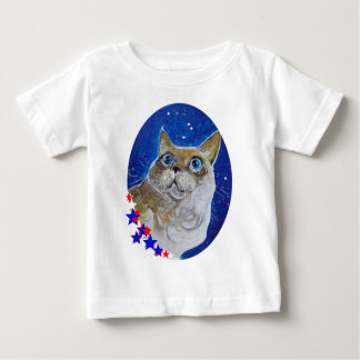 Fun and Sassy Cat Portrait Infant T-shirt