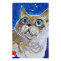 Fun and Sassy Cat Portrait Stationery