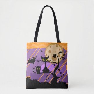 Fun and Spooky Halloween Tote Bag