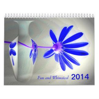 Fun and Whimsical 2014 Calendar