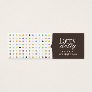 Fun and Whimsical Polk A Dot Packaging Tags