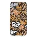 Fun animal pattern hearts iPhone 6 case