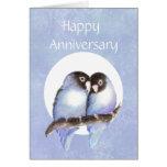 Fun Anniversary Love bird Humor Card