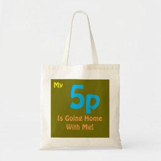 Fun Anti 5p Charge Tote bag UK