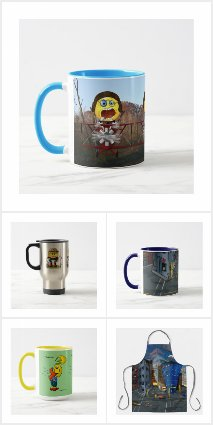 Fun Aprons and Cups