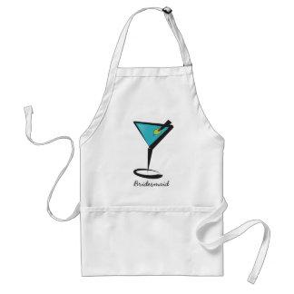 Fun Aqua Martini Adult Apron