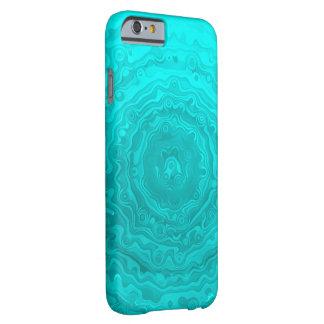 Fun Aqua Ripples Custom Pattern Barely There iPhone 6 Case