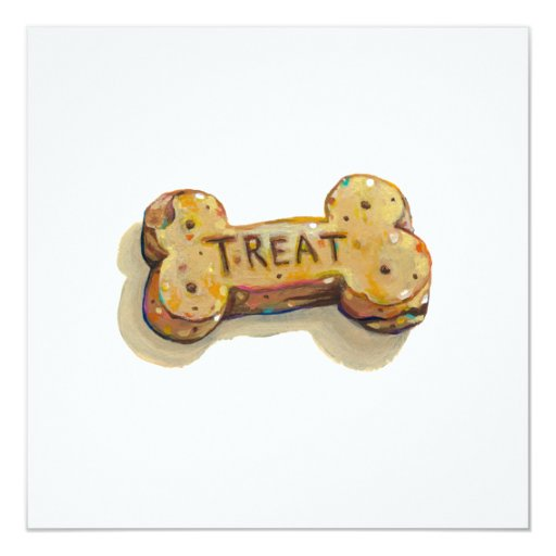 Fun art treat for dog lovers sitters trainers pets card