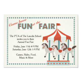 Fun at the Fair Invitation