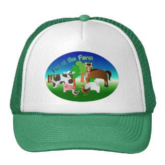 Fun at the Farm Hats