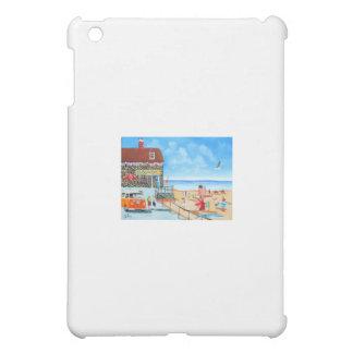 Fun at the seaside British seaside panting Case For The iPad Mini