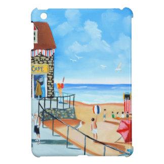 Fun at the seaside British seaside panting iPad Mini Case
