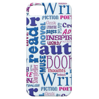 Fun Authors Pattern iPhone SE/5/5s Case