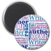 Fun Authors Pattern Magnet