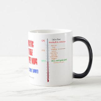 Fun-auto-thermometer 'take Ur temp' coffee/tea cup Mug