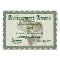 Fun Award Father's Day Card