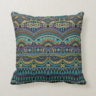 Aztec Themed Fun Aztec Tribal pattern home office decor pillow
