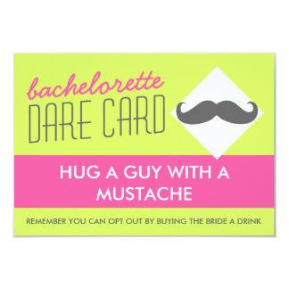 Fun Bachelorette DARE game card - hug a guy