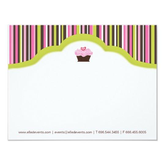 Fun Bakery | Cupcake Notecards