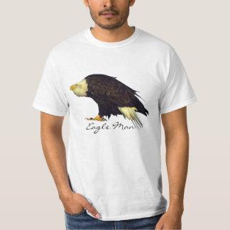 Fun Bald Eagle Wildlife-lover's Tee