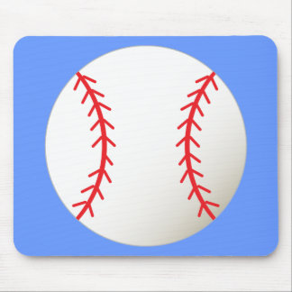 Fun Baseball Mouse Pad