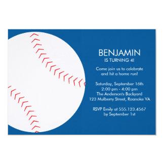 Fun Baseball Themed Birthday Card