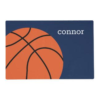 Fun Basketball Fan Kids Placemat