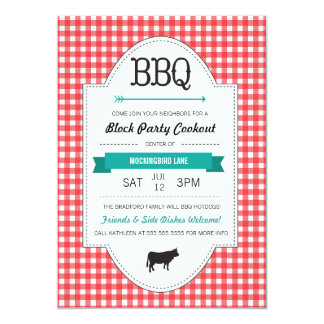 Neighborhood Bbq Party Gifts On Zazzle