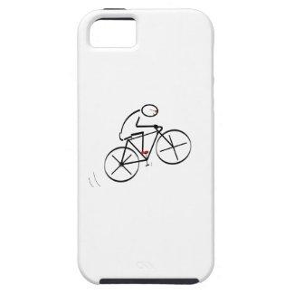 Fun Bicyclist Design iPhone 5 Covers