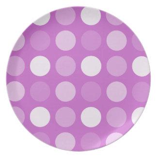 Fun Big Dots Melamine Plate