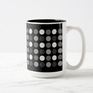 Fun Big Dots Two-Tone Coffee Mug