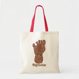 Fun Bigfoot Sasquatch Yeti Bigfooter Canvas Tote Canvas Bags