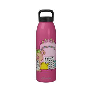 Fun Bingo Bear Liberty Water Bottle