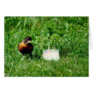 Fun Bird Birthday Card