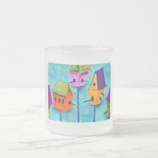 Fun Birdhouse Mugs