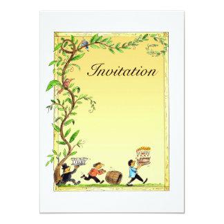 fun birthdaty invitation card