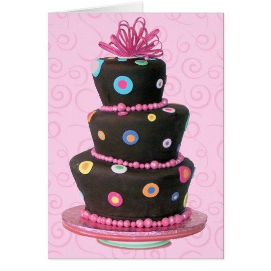 Fun Birthday Cake card