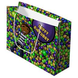 """Fun Birthday Gift Bag - Large, Glossy"""
