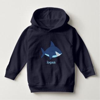 Fun Blue Shark Hoodie
