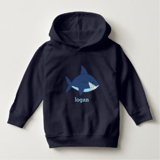 Fun Blue Shark Toddler Hoodie