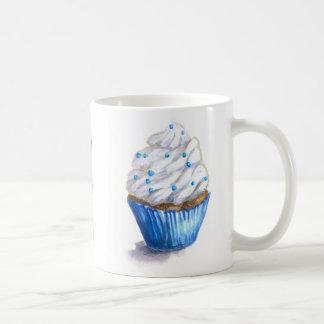 Fun Blue Velvet Cupcake Mug