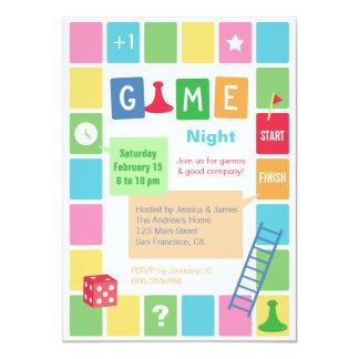 Fun Board Game Night Party Invitations