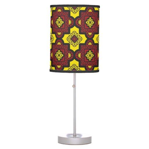 Fun Boho Chic Table Lamp Zazzle