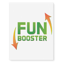 Fun booster super cool and crazy temporary tattoo